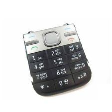 Replacement For Nokia C5 C5 00 Black Keyboard Keypad Buttons Part New