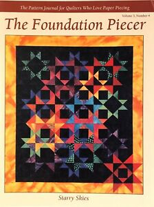 Pattern-The Foundation Piecer-Starry Skies (For quilters who love paper piecing)