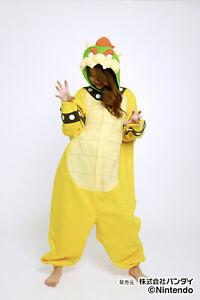 SAZAC Super Mario Brothers Koopa Fleece Cosplay Party Costume Unisex Japan F/S