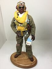 1/6 Dragon Us Tuskegee Fighter Pilot Redtails Ww2 Parachute+Stand P51 Bbi Did Rc
