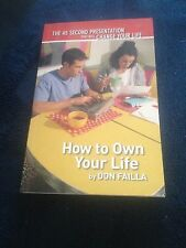 DON FAILLA, HOW TO OWN YOUR LIFE WITH DISC. 0975234315