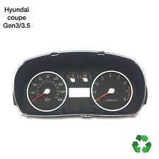 Hyundai Coupe Gen3/3.5 * 02-2009 * Original 2.0 Speedo Reloj Marca (Freep & P)