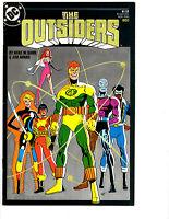 10 The Outsiders DC Comic Books # 1 2 3 4 5 6 7 8 9 10 Katana Metamorpho BH10