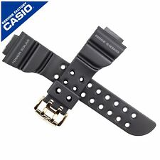 Véritable Casio Bracelet De Montre Bande Pour GW-225A GW-225 GW 225 GW225 Frogman Noir