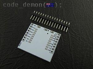 ESP8266 Breakout Board Adapter Plate PCB for ESP-07 ESP-08 ESP-12 (x2) - Arduino