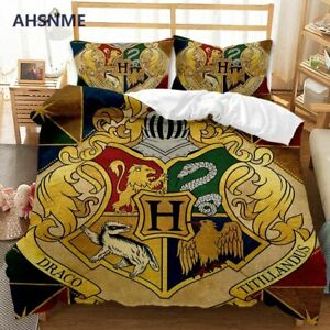 HPter and the Deathly Hallows Bedding Set High-definition Print Quilt Cover
