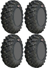 Four 4 GBC Grim Reaper ATV Tires Set 2 Front 25x8-12 & 2 Rear 25x10-12