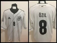 MAGLIA CALCIO GERMANY OZIL ADIDAS SHIRT FUSSBALL TRIKOT JERSEY FOOTBALL VINTAGE