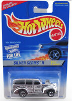 Hot Wheels 1995 Silver Series #2 40s Woodie FROM DEALER'S CASE
