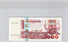 Algerie 1000 Dinars 1998 n° 1526259629 Pick 142b