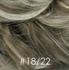 Small Clip In Hair Topper Enhancer Wiglet Bang Hairpiece Volumizer Fill in