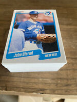 (85) 1990 Fleer John Olerud Rookie Card Toronto Blue Jays #U128 NM-MT+