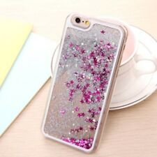 Bling Liquid Glitter Water Sparkly Stars Case Cover for iPhone 4 5 5C 6