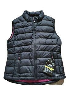 Trespass Quilted Gilet Body Warmer  Black XXL Size 18