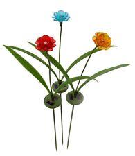 1017 Flower Bouquet Solar Outdoor Garden Lights *** Spring Garden Decoration ***