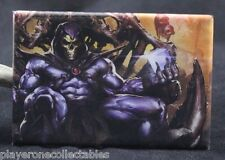 "Skeletor 2"" X 3"" Fridge / Locker Magnet. Throne of Bones. HeMan Classic 80s TV"