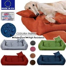 Luxury CODURA Comfy Dog bed Cat Pet Warm Sofa Bed Cushion Extra LARGE up to130cm