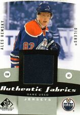 Ales Hemsky 10/11 SP Game Used Authentic Fabrics #AF-AH