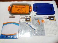 Fiskars Mini ShapeBoss  Stencils Parchamore Paper Portable Embossing System