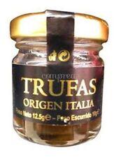 1 X 12,5 gr - Black Truffles Italy Natural Jar Spain Gourmet Natural