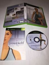 YourselfFitness Microsoft Xbox-CIB Complete In Box & TESTED! *Very Good Cond*
