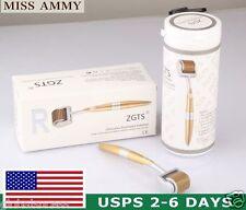 3xTitanium Derma Roller Micro-Needle Zgts Beauty Wrinkles Scars Acne 192 Needles