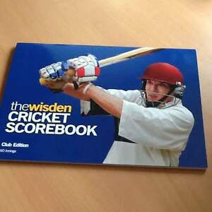 Wisden Cricket Scorebook