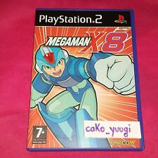 MEGAMAN X8 PS2 PLAYSTATION 2 TRES BON ETAT COMPLET VERSION UK