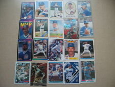 Lot of 20 Chicago Cubs baseball cards. 1980s-present, HOF, chrome, RC