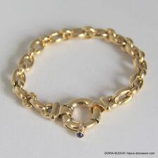 bracelet or 18K 750/000 25.30 grs maille jaseron - Bijoux occasion