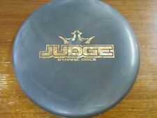 DD JUDGE JUNIOR EDITION MINI DISC MARKER BLACK/GOLD @LSDISCS