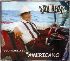 LOU BEGA - YOU WANNA BE AMERICANO - CD SINGOLO NEW NUOVO SIGILLATO