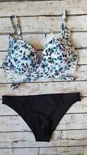 NEW WOLF & WHISTLE / RIVER ISLAND  mix & match bikini set  UK size 8 / 32F -  C2