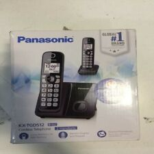 Panasonic KX-TGD512B Expandable Up to 6 Handsets - Cordless - 2 Handsets Black