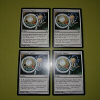 Chromatic Sphere x4 Mirrodin 4x Playset Magic the Gathering MTG