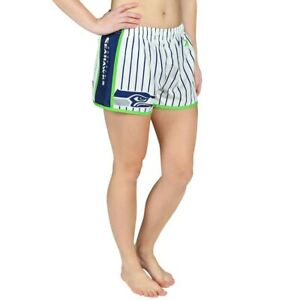 Forever Collectibles NFL Women's Seattle Seahawks Pinstripe Shorts