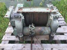 Garwood 20,000 lbs PTO 5 Ton Hydraulic Electric Winch Military Heavy Duty Used