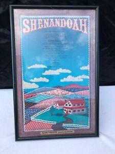 "Vintage Shenandoah Theater Broadway Window Card Poster 15"" x 23"""