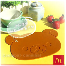 ~ HK McDonald's - RILAKKUMA - SILICONE Heat resistance MAT - LIMITED EDITION