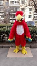 Plush Parrot Mascot Costume Suit Cosplay Party Game Dress Outfit Halloween Adult