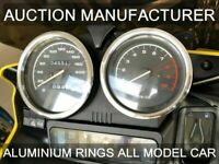 BMW Motorbike R 1100 GS  Chrome Dial Surrounds Gauge Rings Polished Alloy New