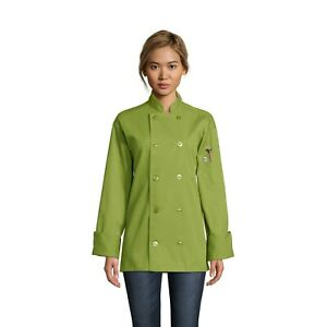 Orleans chef coat many colors sizes XS-6XL, 0488