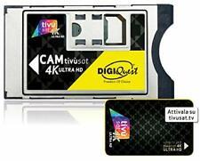 More details for italian tv in uk digiquest tivu sat cam 4k uhd & tivusat card digital italian tv
