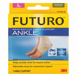 Futuro Wrap Around Ankle Support Large 47876
