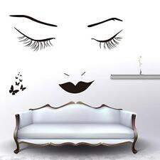 Sex Lady Face Home Bedroom Decorative Vinyl Wall Sticker Decals Wallpaper