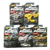 HOT WHEELS 2020 FAST & FURIOUS EURO FAST SET OF 5 CAR CASE IN STOCK KIDS TOYS