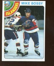 1978/1979 Topps Hockey Card #115 Mike Bossy Rookie EXMT+