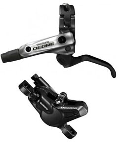 Shimano M615 Hydraulic Disc Brake  - LEFT HAND FRONT - 800mm Hose - Black