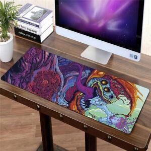 90 x 40cm Hyper Beast XXL Large Gaming Mouse Mat Desk Pad Laptop Keyboard