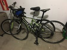 GT 4 series Black Road Bike/Medium And Casual green ladies Bike